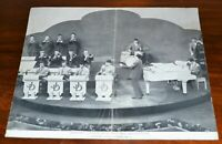 1950s Johnny Dankworth & His Orchestra Promotional Photograph w/ Line Up Info