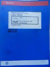 Werkstattbuch Reparaturleitfaden VW Lupo Simos Einspritz-und Zündanlage #6638