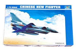 Trumpeter 9361611 Chengdu J-10/F-10 Vanguard 1:72 Kampfflugzeug Modellbausatz
