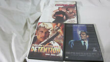 LOT OF 3 DOLPH LUNDGREN DVD'S COVER UP DETENTION PEACEKEEPER MICHAEL SARRAZIN