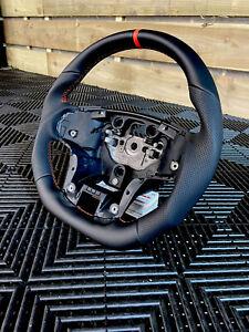 Ford Ranger Wildtrack T8 steering Wheel Flat Bottom Black Orange