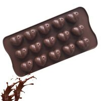 Silikonform Herz Silikon-Pralinenform Schokolade Antihaftbeschichtung YL810#YJS