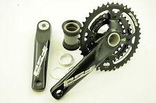 FSA COMET MEGAEXO 42/32/24T MTB chainwheel pedaliera in 175mm BB30 Nero