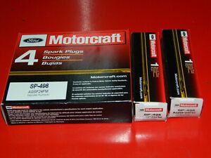 (6) GENUINE MOTORCRAFT SP-498 PLATINUM SPARK PLUGS FOR 2005 MUSTANG & 06-07 LR3