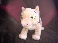 "OFFICIAL DISNEY STORE 14"" MEDIUM NALA THE LION KING SOFT TOY PLUSH NEW TAGS"