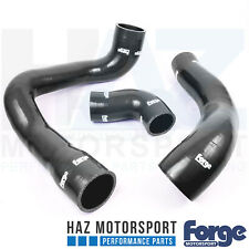 FORGE Motorsport, Tubi in Silicone Turbo Boost + fascette di Ford Focus MK3 2.3 Nero RS