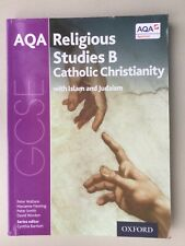 AQA  RELIGIOUS STUDIES CATHOLIC CHRISTIANITY + ISLAM & JUDAISM (WALLACE) -GOOD