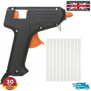 Glue Gun Plus 2 Adhesive Sticks Mini Electric Hot Melt DIY Hobby Craft 10W 40W