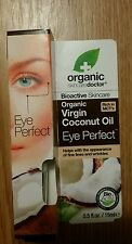 Organic skin care doctor Organic Coconut Oil Eye Perfect, 0.5oz