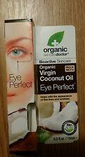 Organic skin care doctor Organic Coconut Oil Eye Perfect, 0.5oz