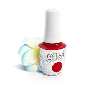 Harmony Gelish UV Soak Off Gel Polish 1110829 Red Roses 0.5oz