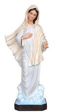 Madonna Medjugorje Statue cm. 80 Resina