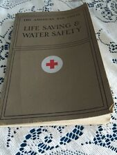 Vintage 1956 Life Saving and Water Safety American Red Cross PB Book 143 Illust