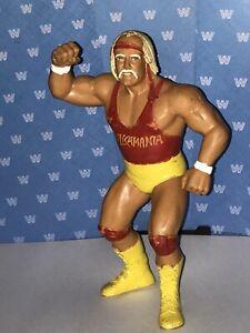 WWF LJN BLACK CARD HULK HOGAN RED SHIRT - WWF LJN HULK - VINTAGE TITAN SPORTS
