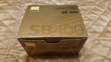 Nikon Speedlight SB-400 Shoe Mount Flash for Nikon w/ Case