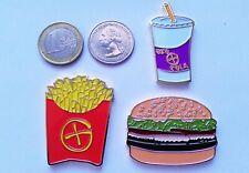☆ 3 Fast Food Geocoins geocoin Geofries Geoburger Geocola Fries hamburger drink