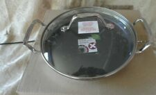"""Princess House Culinario Series Healthy 9"""" Round Griddle New! #6976"""