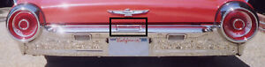 1961, 1962, 1963 FORD THUNDERBIRD CHROME GAS DOOR