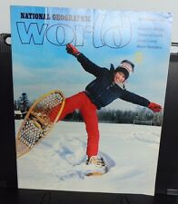 National Geographic ~ WORLD magazine -- NOVEMBER 1986 ~ Junior Members