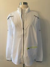 New Balance For Jcrew Collaboration Mens Workout Jacket Top White G1886 Sz M NEW