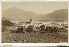 Mondsee- Wurthle & Sohn , Salzburg. ca. 1895 Kabinettfoto