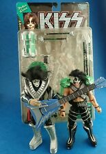 McFarlane Toy Figures KISS - PETER CRISS & ACE FREHLEY Action Figures 1997