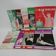 Lot of 11: The Baconian-Roger Bacon High School-Student Publication-1930s-1940..