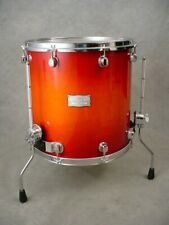MAPEX SATURN MAPLE / WALNUT 16X16 CHERRY BURST FLOOR TOM! DRUM! NICE!