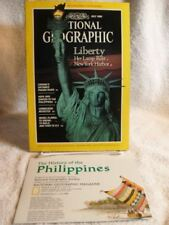 RARE NATIONAL GEOGRAPHIC MAGAZINE JULY 1986 LADY LIBERTY MAP THE PHILIPPINES