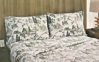 Remington Trout Fishing Standard Queen Pillowcases Cabin Lodge Hunting Rustic