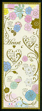 Japan 2017 MNH Heart Hearts 6v M/S Flowers Stamps ONLY