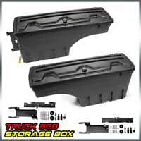 Left & Right FOR F-150 2015 2016 2017 2018 2019 Truck Bed Storage Box Toolbox
