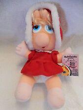 Mc Donalds   Muppet Babies  Miss Piggy   1988 STUFFED  w/tag GREAT LOOKING EUC