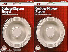 Qty of 2 ACE GARBAGE DISPOSAL STOPPERS Fits all popular disposals