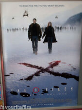 Cinema Poster: X FILES I WANT TO BELIEVE 2008 (Main One Sheet) David Duchovny
