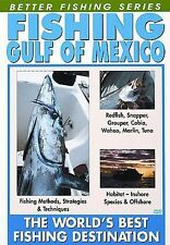 DVD: Better Fishing Series: Fishing Gulf of Mexico - Redfish Snapper Marlin Tuna