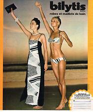 PUBLICITE  1977   BILYTIS   robes & maillots de bain