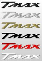 2 ADESIVI/STICKERS in RESINA 3D SCRITTA TMAX per SCOOTER x MOTO YAMAHA T MAX 500