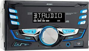 Jensen MPR420 7 Character LCD Double DIN Car Stereo Receiver | Push to Talk New