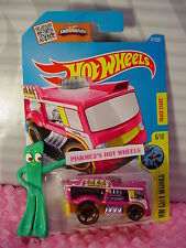 2016 i Hot Wheels CHILL MILL #171✰Pink/Yellow;oh5;Fresh Milk✰City Works✰Case P/Q