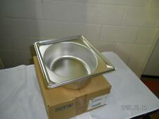 """Case Of 6 Vollrath Super Pan Stainless Steel 1/2 Size 4""""Deep"""
