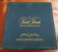 VINTAGE 1991 TRIVIAL PURSUIT MASTER GAME GENUS 3RD EDITION COMPLETE LOVELY XMAS