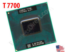 INTEL CORE 2 DUO T7700 PROCESSOR 2.4GHZ/4M/800MHZ Socket P LAPTOP MOBILE CPU