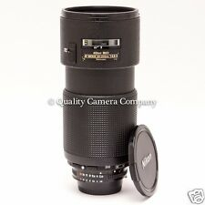 Nikon ED AF NIKKOR 80-200mm f/2.8D - 2nd GENERATION GREAT GLASS, GOOD PRICE!