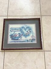 "Beautiful Homco  Home Interior 16.99""Bless Our Home"" Picture"