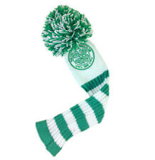 Celtic Fc Golf Club Headcover Pompom (Fairway) Green & White Football Team New