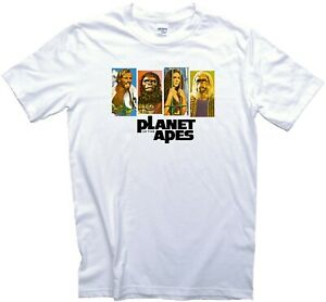 Classic Planet of the Apes 1968 Movie Film T-Shirt. Gents, Ladies & Kids Sizes