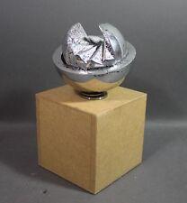 Hans Dieter bohnet (1926-2006) - esfera giratoria objeto de acero (11)