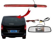 Mercedes Vito Van 2016 Onwards Brake Light Reversing Reverse Camera and Monitor
