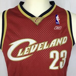 Youth L 14 16 Basketball Jersey Reebok NBA Cleveland Cavaliers #23 LeBron James